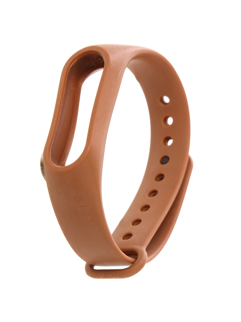 Aксессуар Ремешок Xiaomi Mi Band 2 Silicone Strap Brown цена