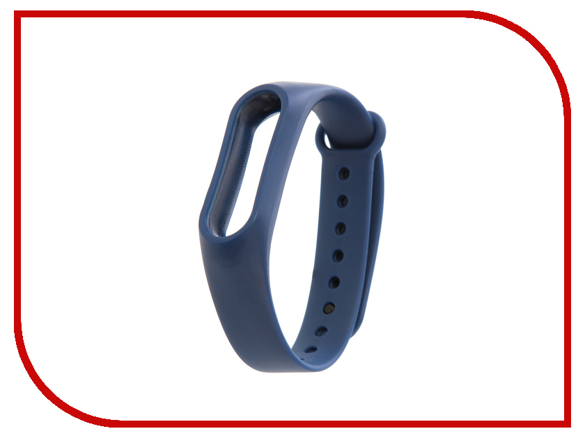 Aксессуар Ремешок Xiaomi Mi Band 2 Strap Dark Blue