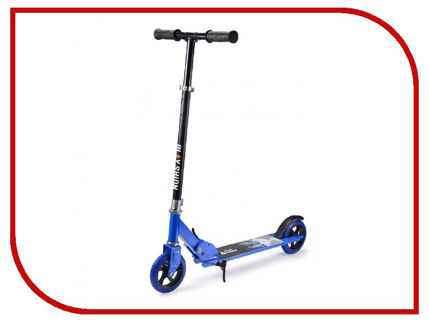 Самокат Playshion Sunshine Scooter Blue самокат 3 х колесный 21st scooter 21st scooter детский самокат с сиденьем maxi scooter красный