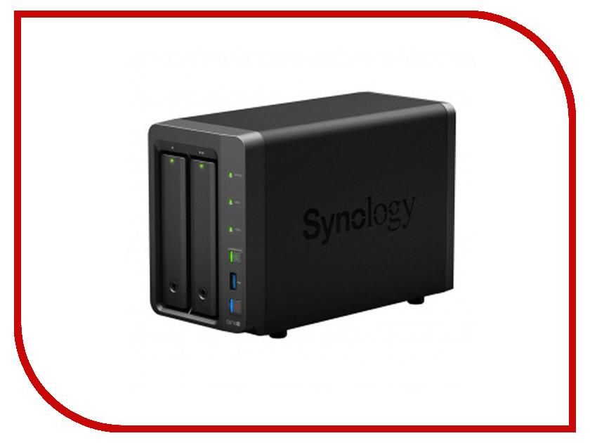Сетевое хранилище Synology DS718+ адаптер synology e10g17 f2
