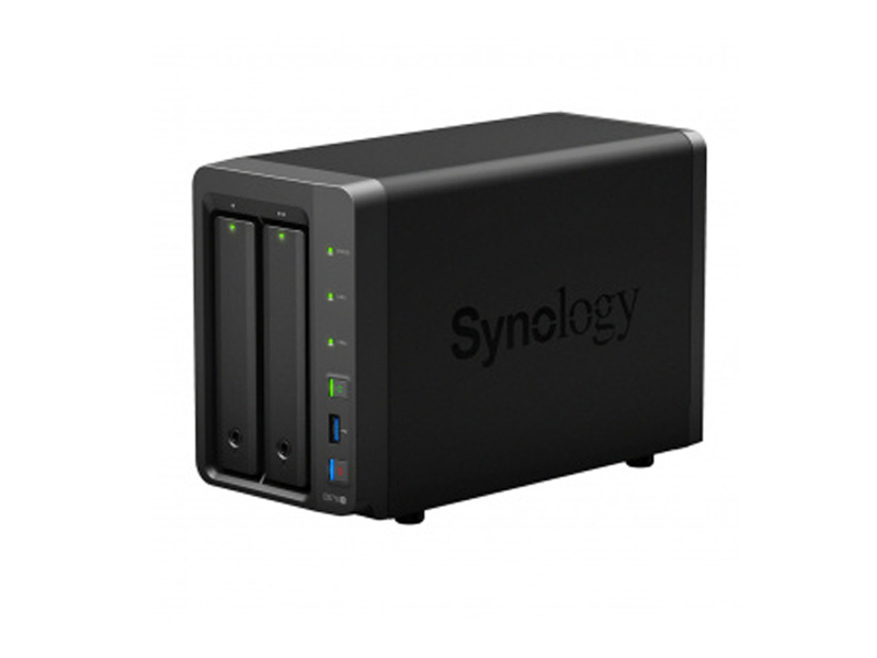 Сетевое хранилище Synology DS718+ synology ds916 8gb