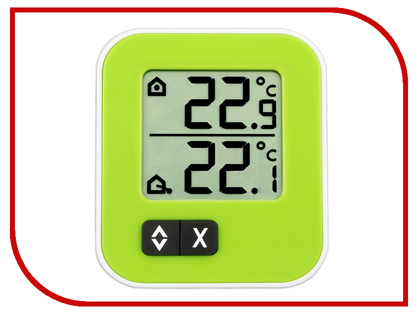 Термометр TFA 30.1043.04 Green термометр комнатный tfa 48 1501