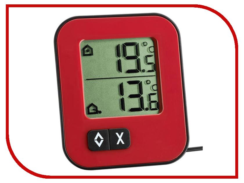 Термометр TFA 30.1043.05 Red термометр комнатный tfa 48 1501