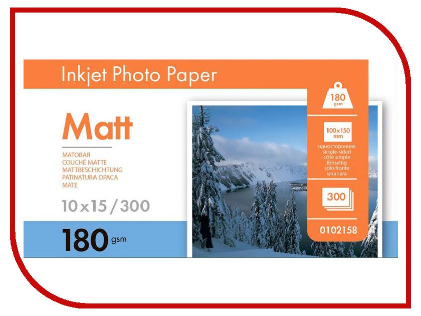 Фотобумага Lomond A6 180g/m2 матовая односторонняя 300 листов 0102158