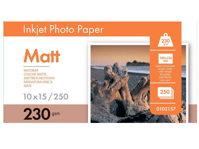 Фотобумага Lomond A6 230g/m2 матовая односторонняя 250 листов 102157
