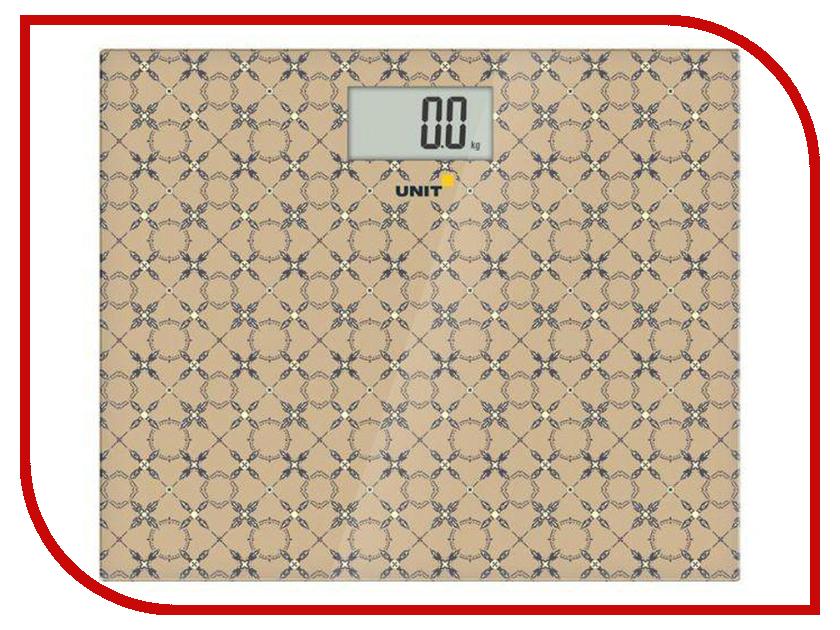 Весы напольные UNIT UBS 2080 BN Beige unit ubs 2053 light gray весы напольные электронные