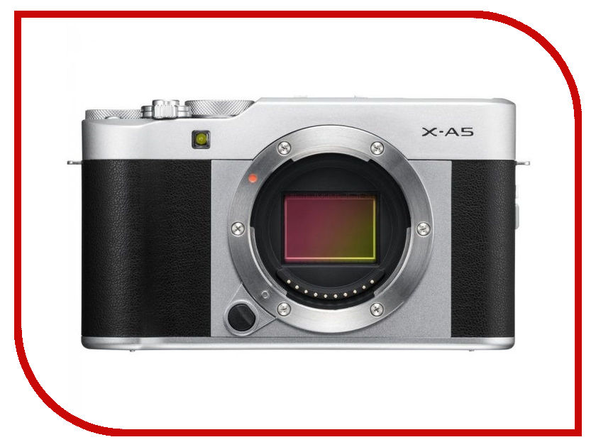 Фотоаппарат FujiFilm X-A5 Body Silver фотоаппарат системный fujifilm x t20 kit 18 55 silver
