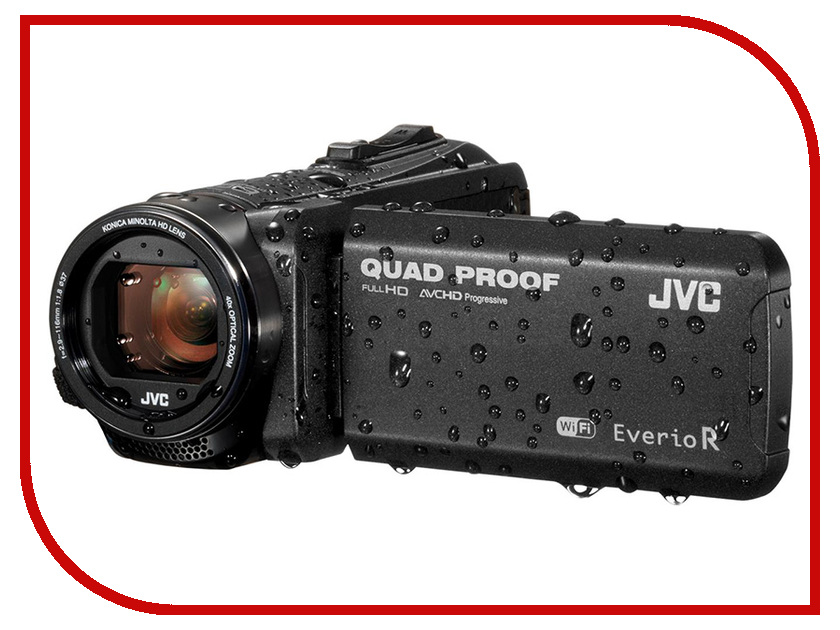 цены Видеокамера JVC Everio GZ-RX605BEU