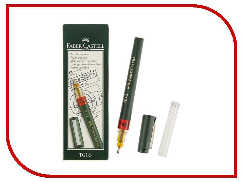 Рапидограф Faber-Castell TG1-S 0.18mm 160018 faber drop eg8 bkl a48
