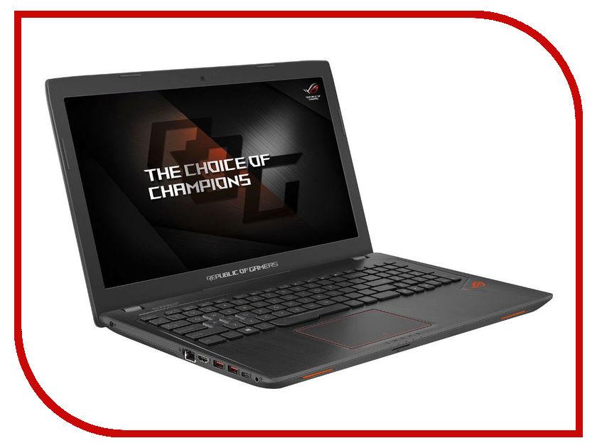Ноутбук ASUS ROG GL553VE-FY269 90NB0DX3-M06350 (Intel Core i7-7700HQ 2.8 GHz/16384Mb/1000Gb + 128Gb SSD/nVidia GeForce GTX 1050Ti 4096Mb/Wi-Fi/Bluetooth/Cam/15.6/1920x1080/Endless) ноутбук asus gl553ve fy055t 90nb0dx3 m00730 intel core i7 7700hq 2 8 ghz 12288mb 1000gb 128gb ssd dvd rw nvidia geforce gtx 1050ti 4096mb wi fi bluetooth cam 15 6 1920x1080 windows 10 64 bit