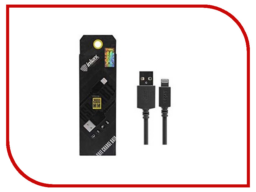 Аксессуар Inkax USB - Lighting 8pin CK-08-IP Black