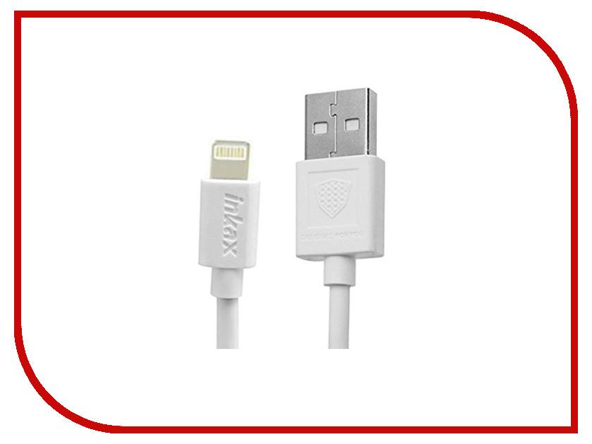 Аксессуар Inkax USB - Lighting 8pin CK-13-IP White