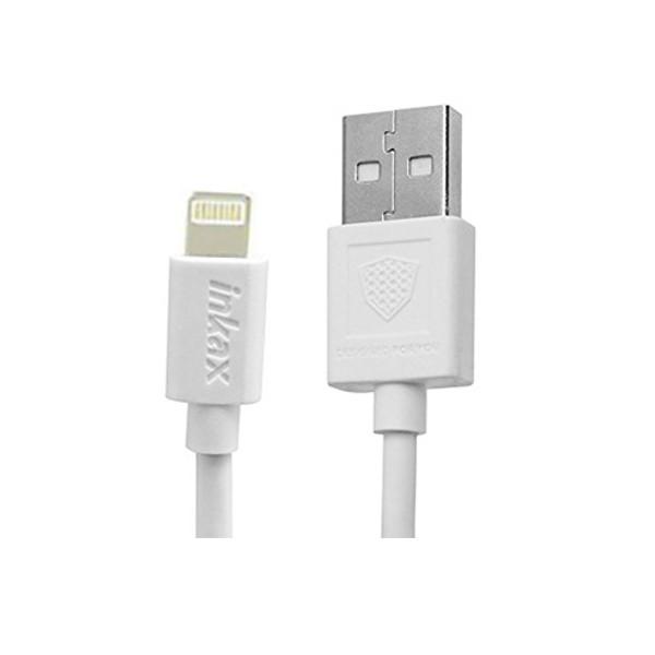 Аксессуар Inkax USB - Lighting 8pin CK-13-IP White цена 2017