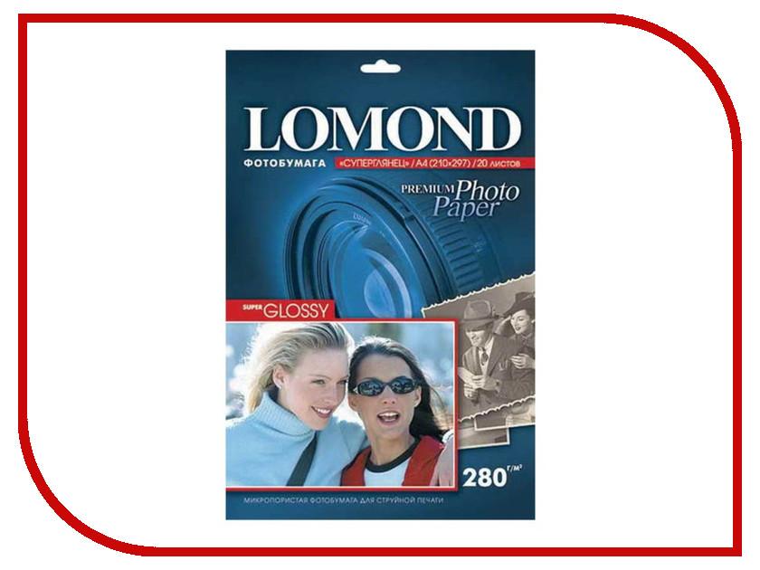 Фотобумага Lomond A3 280g/m2 Warm Super Glossy односторонняя 20 листов 1104102 фотобумага lomond 1106100 глянцевая 270g m2 a4 super glossy односторонняя 20 листов