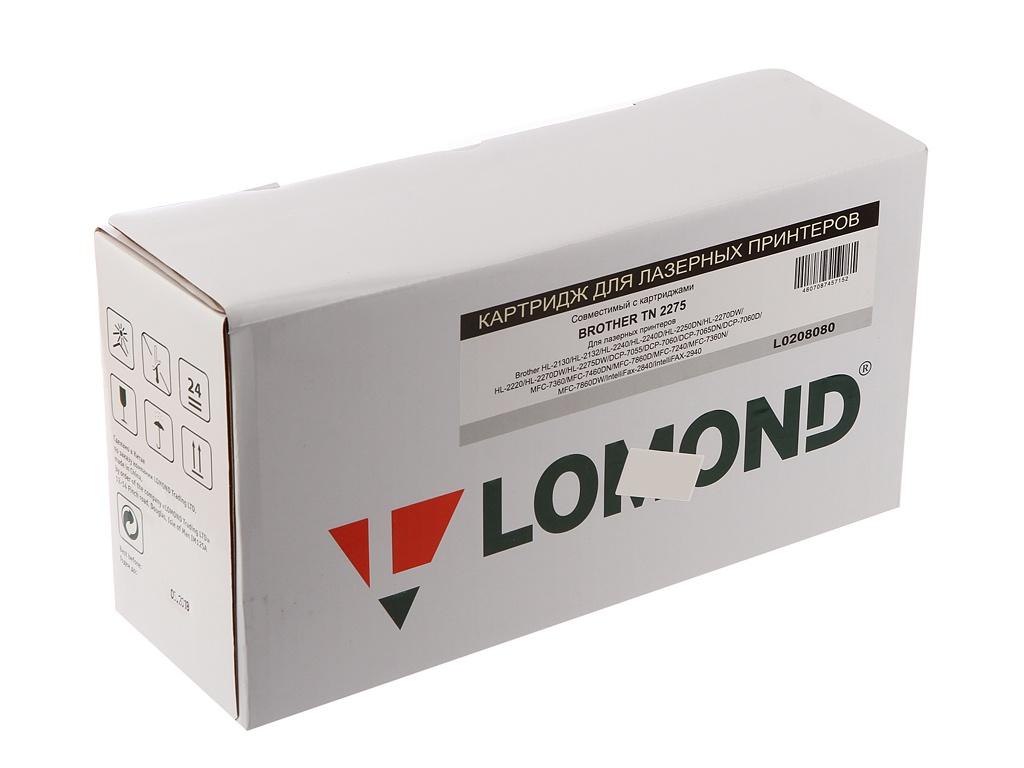 Картридж Lomond L0208080 для Brother HL-2240R/2240DNR/2250DNR