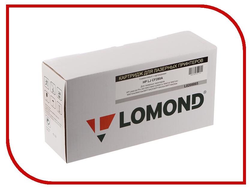 Картридж Lomond L0208865 для HP LJ Pro 400/PRO M401/MFP M425 new heating element 110v for hp pro 400 mfp m425dn m401dn m475dw p2035 p2055 2035 2055 m401 m425 pro 400 m425dn m401dn m475dw
