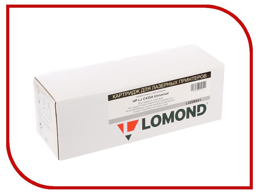 Картридж Lomond L0208841 для HP LJ P1005/1006 New/Canon I-Sensys LBP3010/3100 картридж t2 tc c712 для hp laserjet p1005 p1006 canon i sensys lbp 3010 3100 1500стр