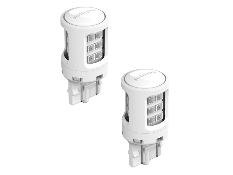 Лампа Philips Ultinon LED W21/5W 11066ULRX2 (2 штуки)