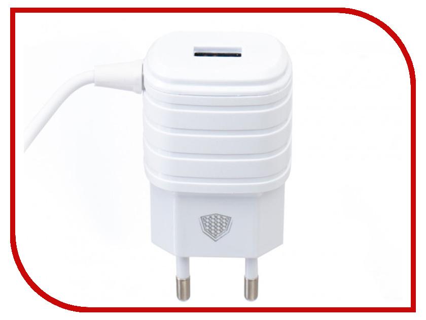 Зарядное устройство Inkax СЗУ 2в1 8pin для iPhone 5/6/7 CD-09-IP White песни для вовы 308 cd