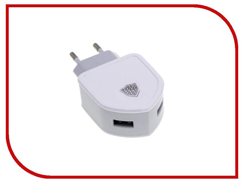 Зарядное устройство Inkax СЗУ 2в1 8pin для iPhone 5/6/7 CD-18-IP White песни для вовы 308 cd