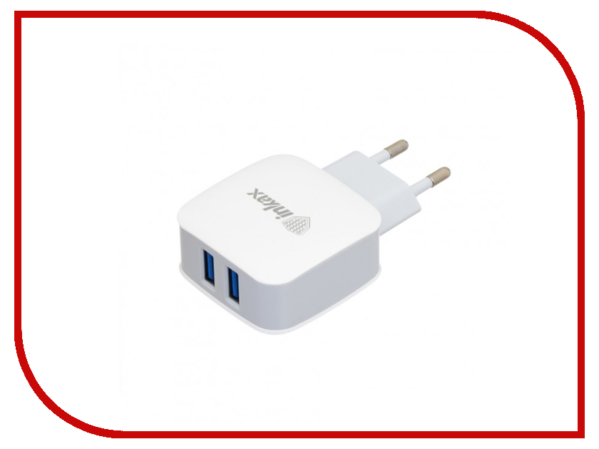Зарядное устройство Inkax СЗУ 8pin для iPhone 5/6/7 CD-28-IP White песни для вовы 308 cd