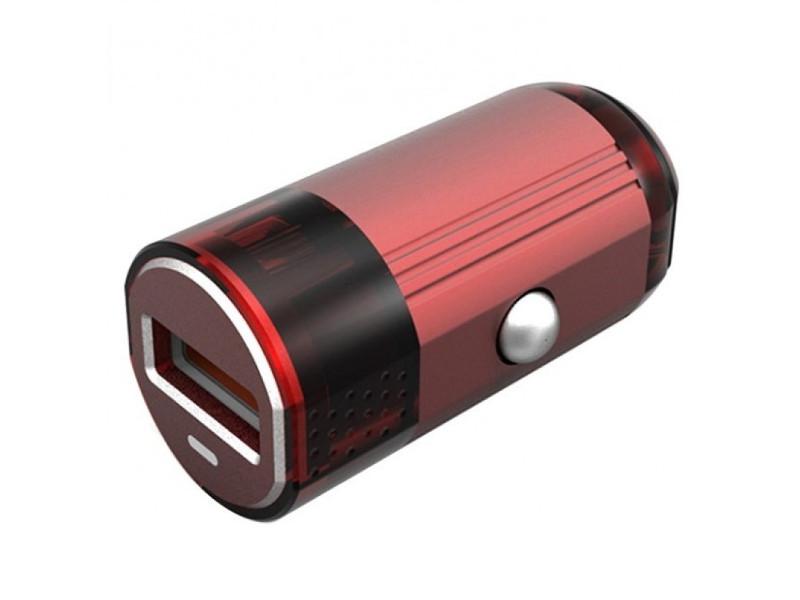 Зарядное устройство EMY MY-118 Lightning 8pin 2400 mAh Red трусы emy form 399 missembry e27581