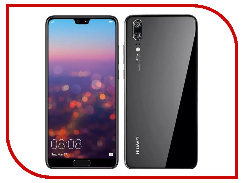 Сотовый телефон Huawei P20 Black