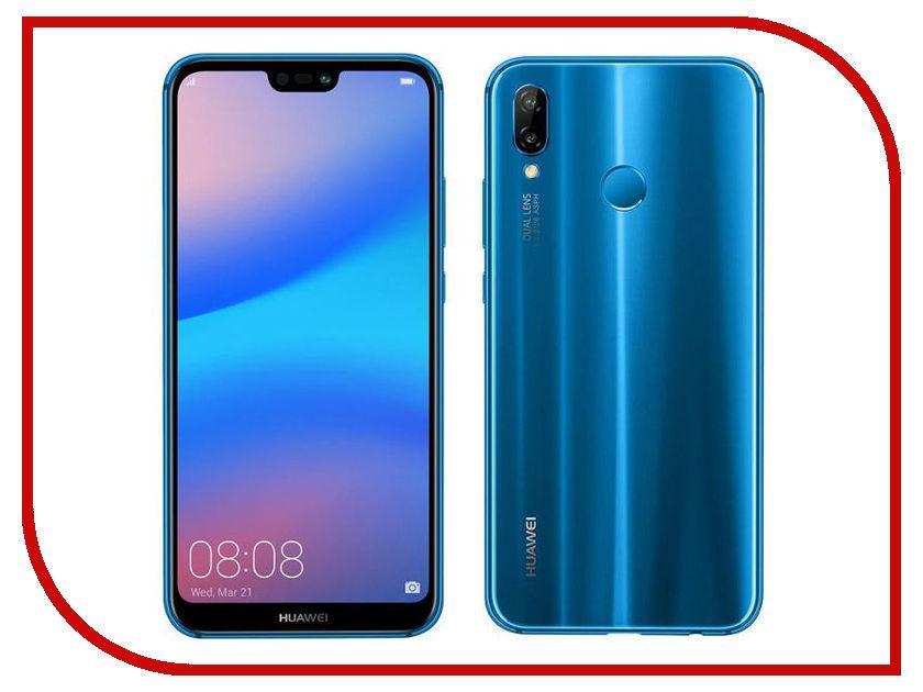 Сотовый телефон Huawei P20 Lite сотовый телефон huawei p20 lite black