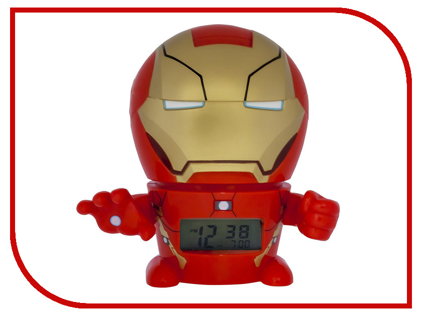 Фото Часы BulbBotz Marvel Iron Man 2021432 marvel phunny s мягкая игрушка iron man