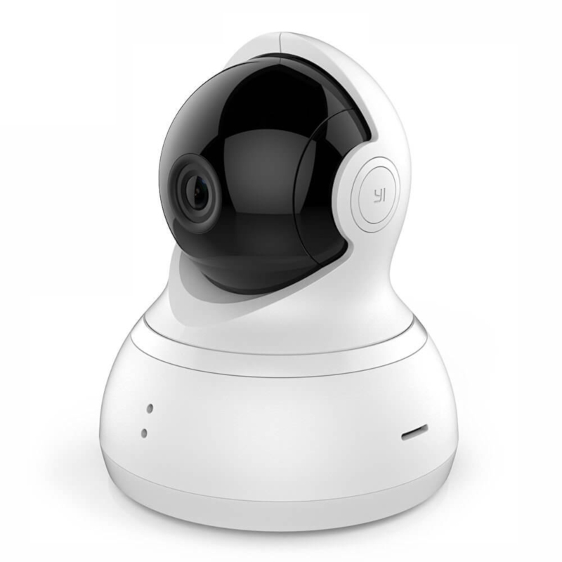 IP камера Xiaomi Yi Dome Camera 720 White EU International Version aluminum metal waterproof outdoor bullet ip camera 960p security camera cctv 24pcs array led board onvif camera ip