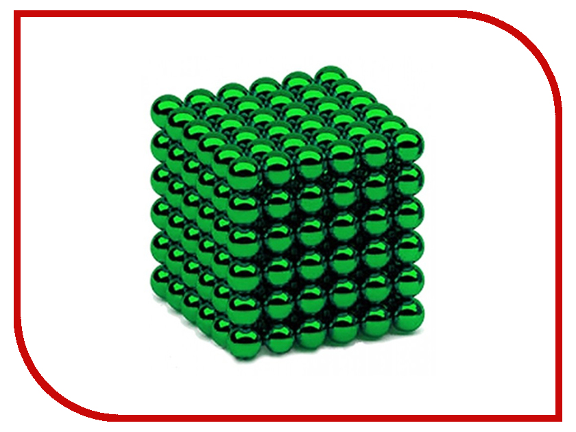 Магниты NeoCube Альфа 216 5mm Green D5NCGR