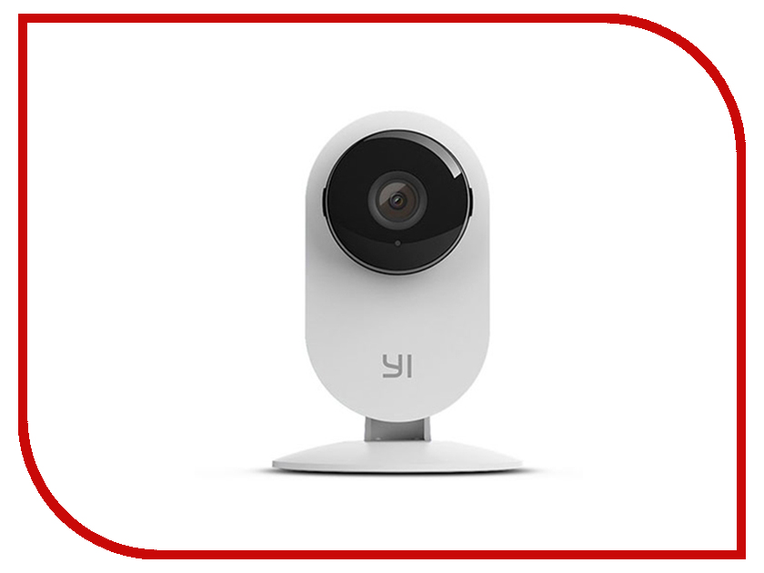 IP камера Xiaomi Yi Home Camera 720p White EU International Version escam wnk404 4ch 720p hd outdoor ir night vision video surveillance security ip camera wifi cctv system wireless nvr kit