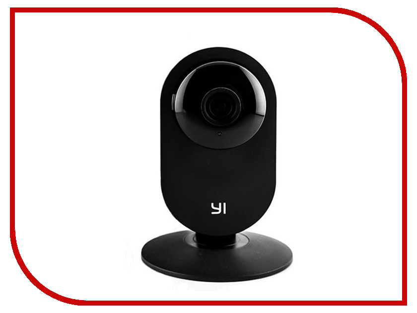 IP камера Xiaomi Yi Home Camera 720p Black EU International Version escam wnk404 4ch 720p hd outdoor ir night vision video surveillance security ip camera wifi cctv system wireless nvr kit