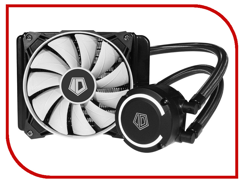Водяное охлаждение ID-Cooling FrostFlow+ 120 150W Black-White (Intel LGA2011/1151/1150/1155/1156/1366/775/AMD AM4/FM2+/FM2/FM1/AM3+/AM3/AM2+/AM2) thermalright true spirit 120 direct computer coolers amd intel cpu heatsink cooling lga 2011 1366 am3 am4 fm2 fm1 coolers fan