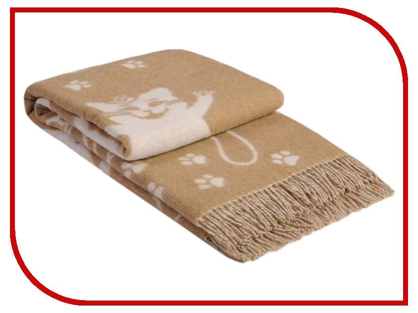 Плед Vladi Коты 140x200cm White-Beige 00002035 vladi vladi плед коты 140х200 см