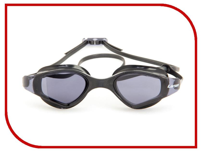 Очки Larsen S53 Black очки плавательные larsen s45p серебро тре
