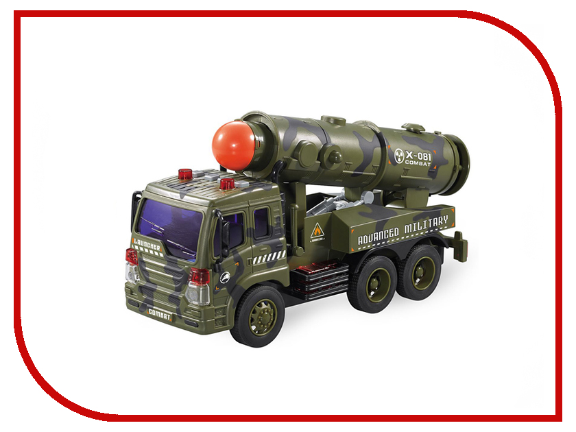 Игрушка Drift Military Power Vehicle 1:16 64962 drift машина фрикционная