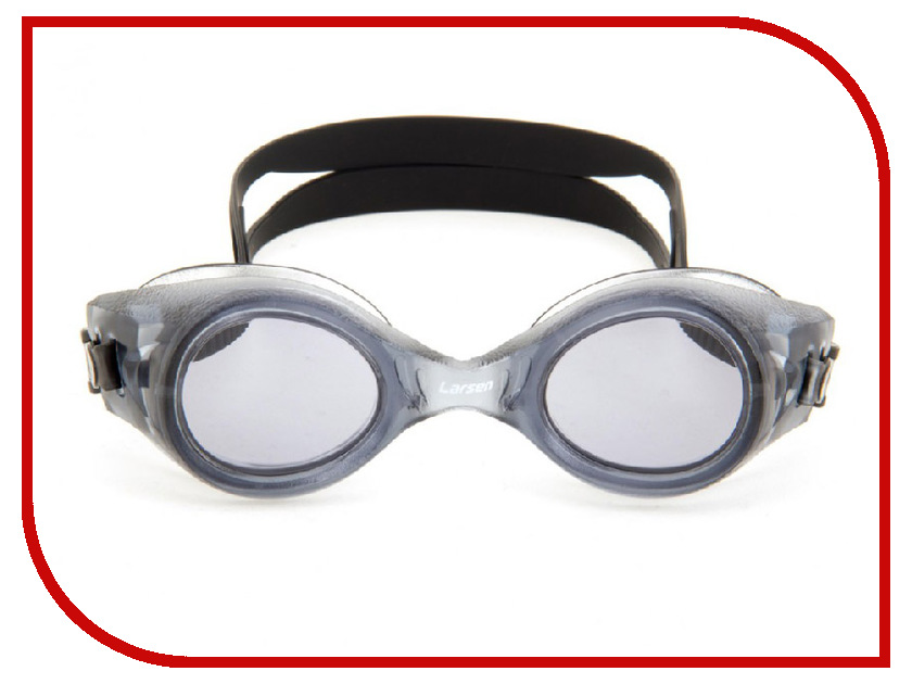 Очки Larsen S8 Black очки плавательные larsen s45p серебро тре