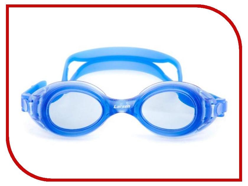 Очки Larsen DS7 Blue очки плавательные детские larsen ds7