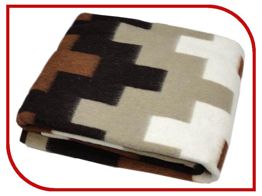 Покрывало Vladi Тетрис 140x205cm White-Beige-Terracotta-Brown 00000886