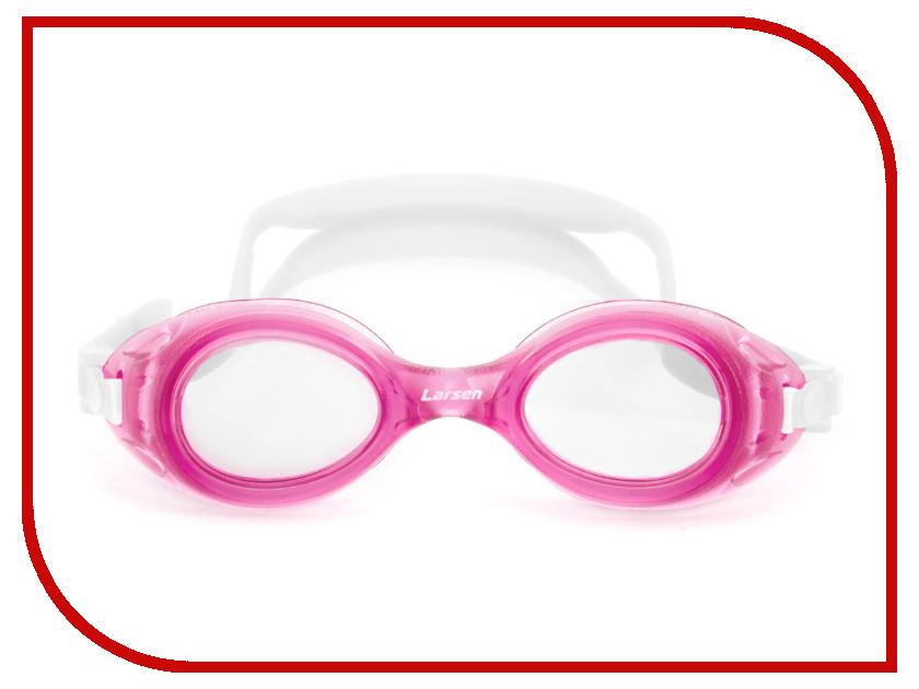 Очки Larsen DS7 Pink очки плавательные детские larsen ds7