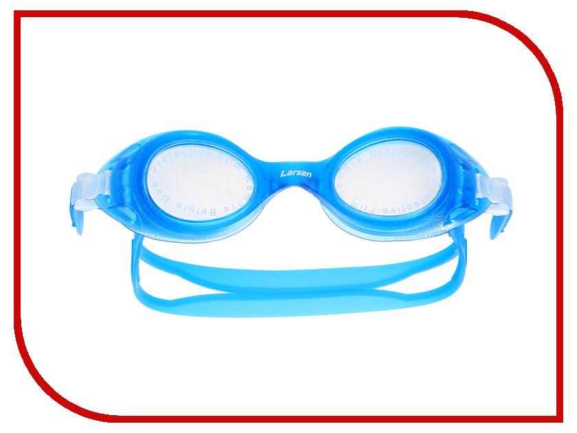 Очки Larsen DS7 Dark blue очки плавательные детские larsen ds7