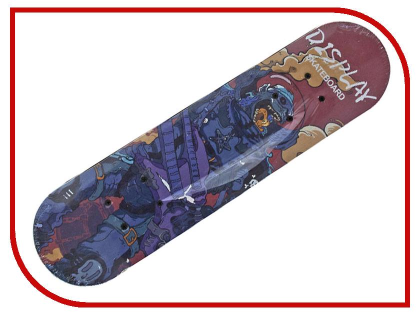 Скейт Veld-Co Спорт 51696 аксессуары veld co набор переводных татуировок черепа