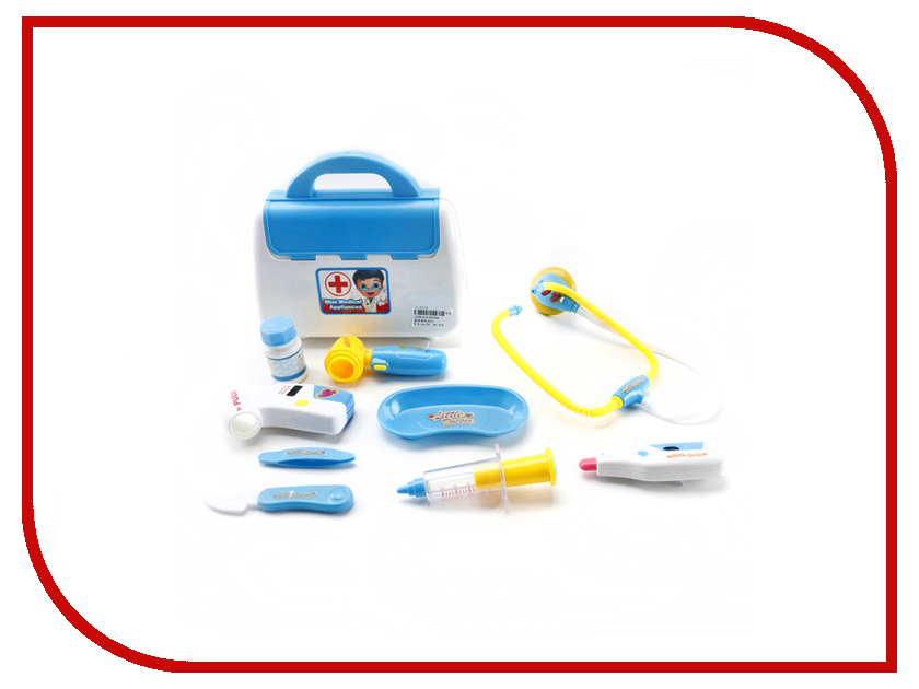 Набор доктора Veld-Co 43890 игровые наборы veld co набор посуды на подносе