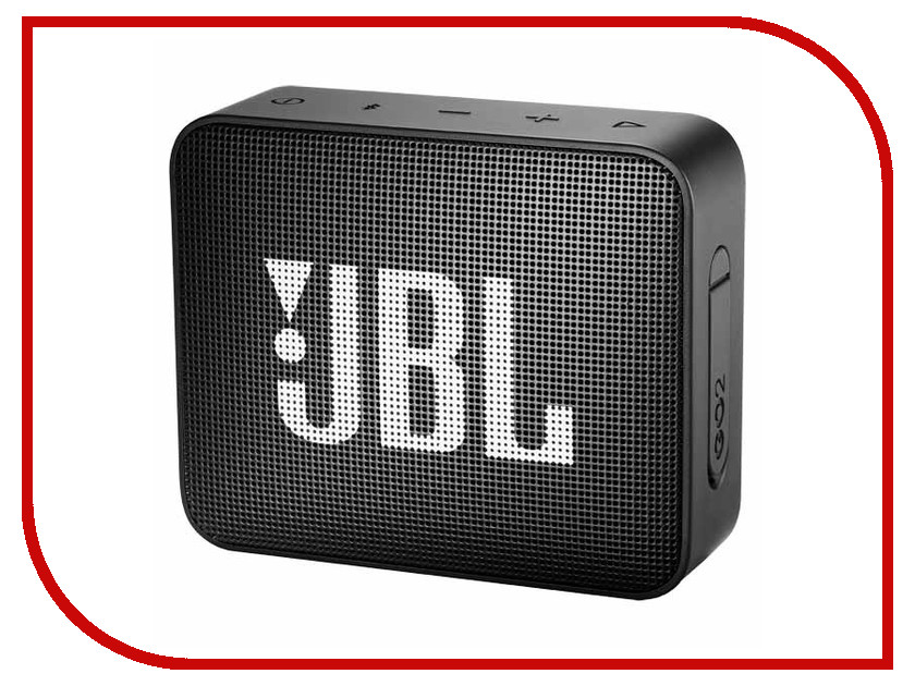Колонка JBL GO 2 Midnight Black колонка jbl go 2 coral orange