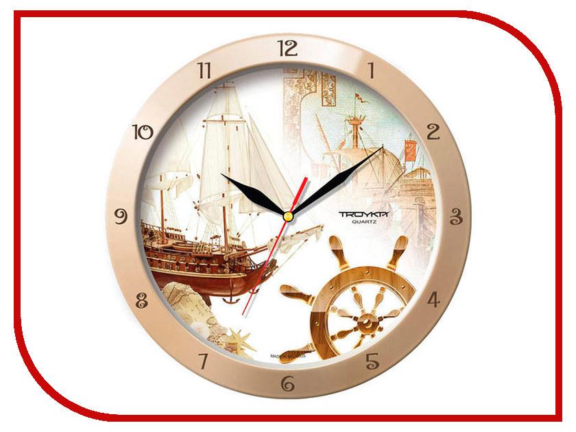 Часы TROYKA 11135172 troyka часы настенные troyka 31 см
