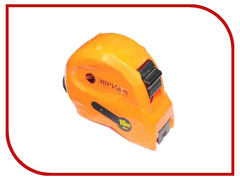 Рулетка Эврика 10m x 25mm Orange ER-61125