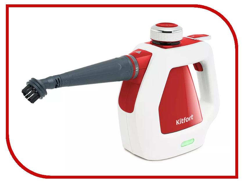 Пароочиститель Kitfort KT-918 Red пароочиститель sinbo ssc 6411 red