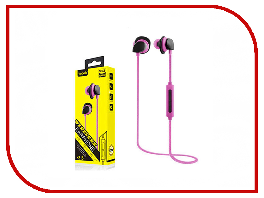 Yookie K315 Bluetooth Pink цена