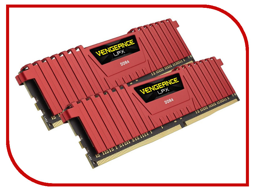 Модуль памяти Corsair DDR4 8Gb (2x4Gb) 2133MHz PC4-17000 CL13 CMK8GX4M2A2133C13R модуль оперативной памяти пк corsair cmv8gx4m1a2400c16 8gb ddr4 cmv8gx4m1a2400c16
